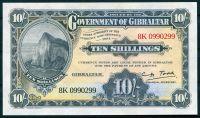 Gibraltar - (2018) 10 Shillings (replica 1934) - UNC