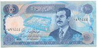 Irák - (P 84b) 100 Dinars (1994) - UNC - var. bez čárky