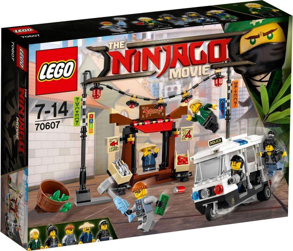 LEGO® NINJAGO™ : Honička po NINJAGO™ City (70607)