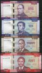 Liberia - (P 31-34) 5 + 10 + 20 + 50 Dollar - UNC