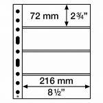 SH list 312 - 4C - na bankovky, vstupenky (bal. 50 ks)