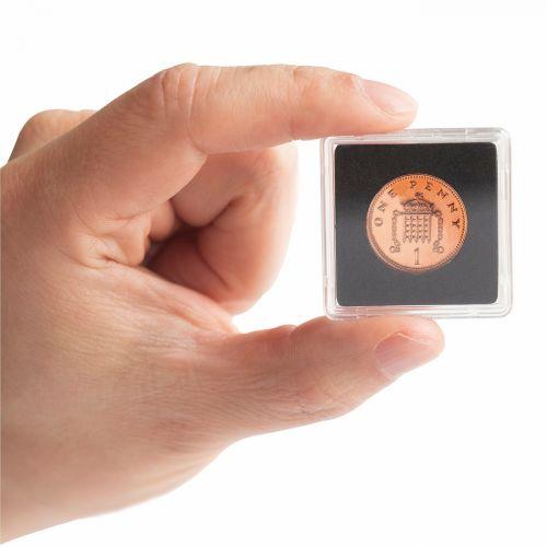 Kapsle na mince Leuchtturm Quadrum mini | TGW.cz