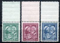 (1935) MiNr. 339 - 341 ** KH - Tschechoslowakei -  hl Methodius