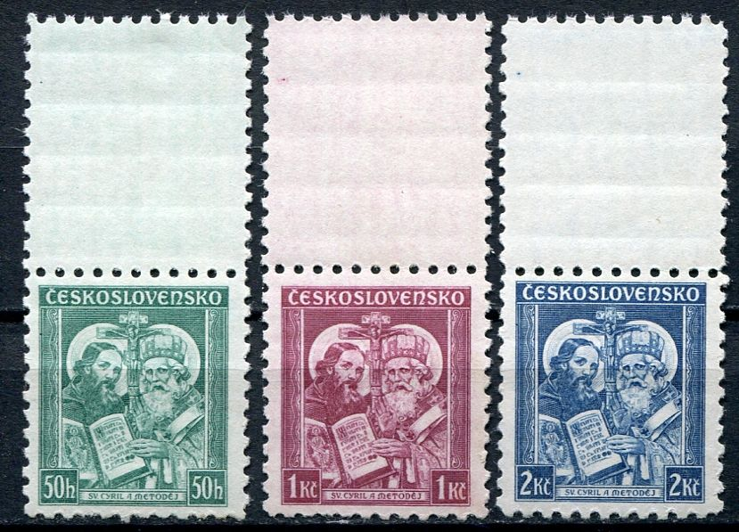 (1935) č. 292 - 294 ** KH - Československo - sv. Metoděj | www.tgw.cz