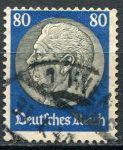 (1936) MiNr. 527 - O - Deutsches Reich - Hindenburg - medailon
