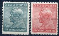 (1937) č. 322 - 323 ** - Československo -  J. E. Purkyně