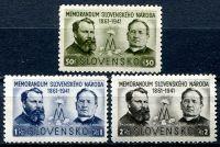 (1941) MiNr. 85 - 87 * - Slovenský štát - Memorandum císaři