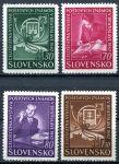 (1942) MiNr. 98 - 101 ** - Slovenský štát - Výstava poštovních známek