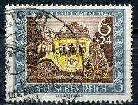 (1943) MiNr. 828 - O - Deutsches Reich - Hindenburg - Den poštovní známky