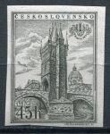 (1955) č. 854 B ** IV. typ - Československo - Výstava poštovních známek PRAGA