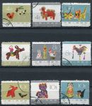 (1963) Nr. 765 - 773 - O - China - Spielsachen