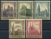 (1967) MiNr. 897 - 901 ** - San Marino - Gotické katedrály Evropy