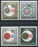 (1970) MiNr. 1105 - 1108 ** - Portugalsko - EXPO '70, Osaka
