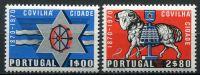 (1970) MiNr. 1111 - 1112 ** - Portugalsko - Covilhã
