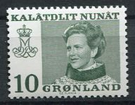 (1973) MiNr. 84 ** - Grónsko - Královna Margrethe II.