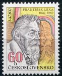 (1976) č. 2184 ** - Československo - F. Lexa,  egyptolog