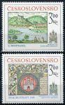 (1977) č. 2289 - 2290 ** - Československo - Bratislavské historické motivy 1977