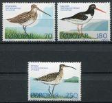 (1977) MiNr. 28 - 30 ** - Faerské ostrovy - ptactvo