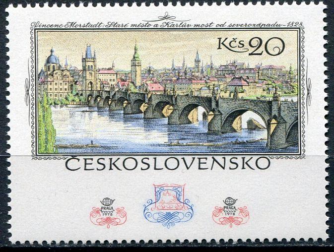 (1978) č. 2333 ** - Československo - 60 let čs. poštovní známky   www.tgw.cz