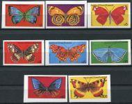 (1979) Yt GQ 125 A-H nd ** - Rovníková Guinea - Motýli