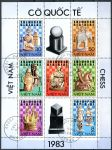 (1983) MiNr. 1335 - 1342 - O - Vietnam - PL - Šachy