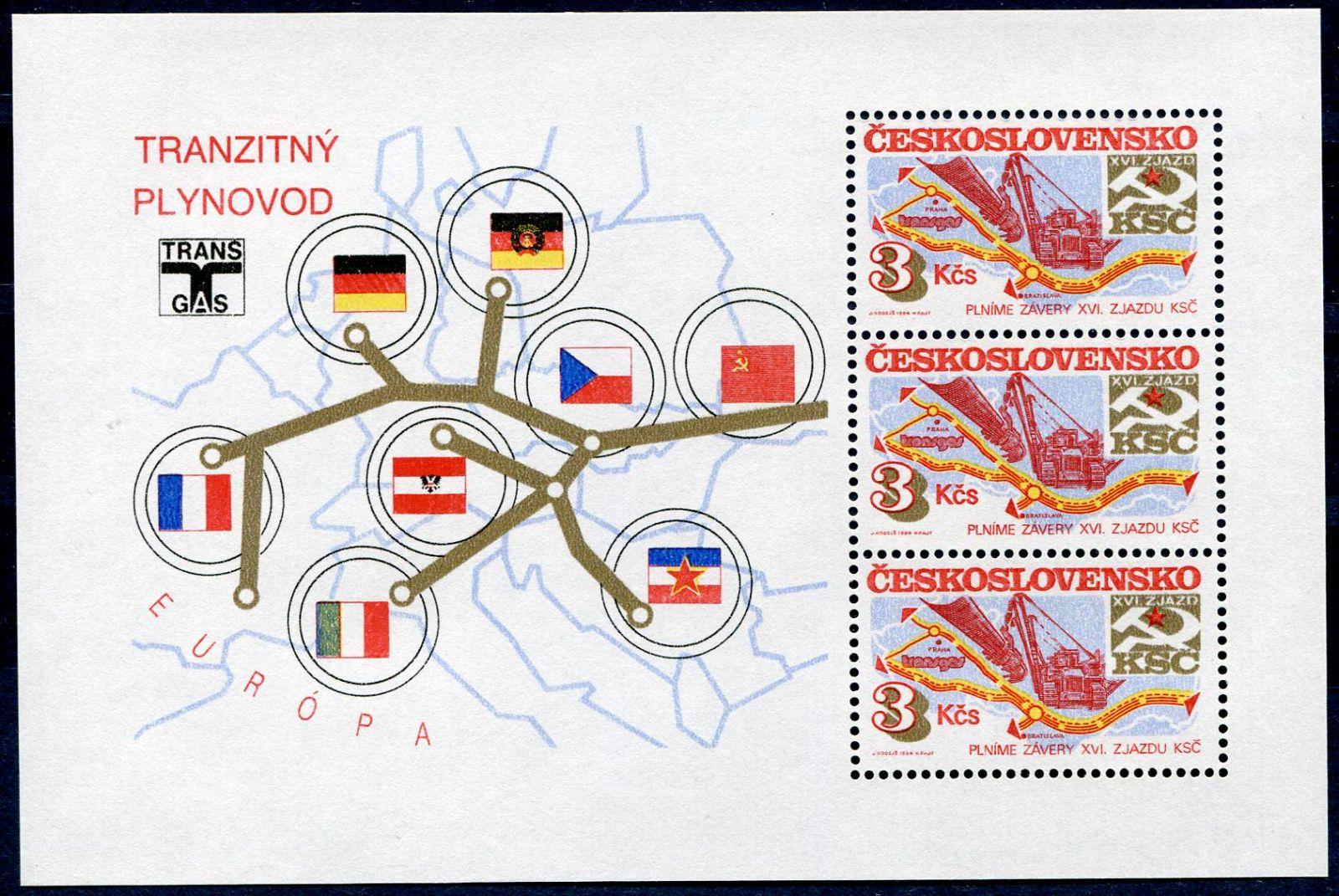 (1984) A 2671 ** - Československo - Socialistická výstavba   www.tgw.cz