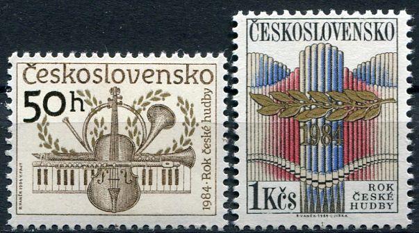 (1984) č. 2647 - 2648 ** - Československo - Rok české hudby | www.tgw.cz