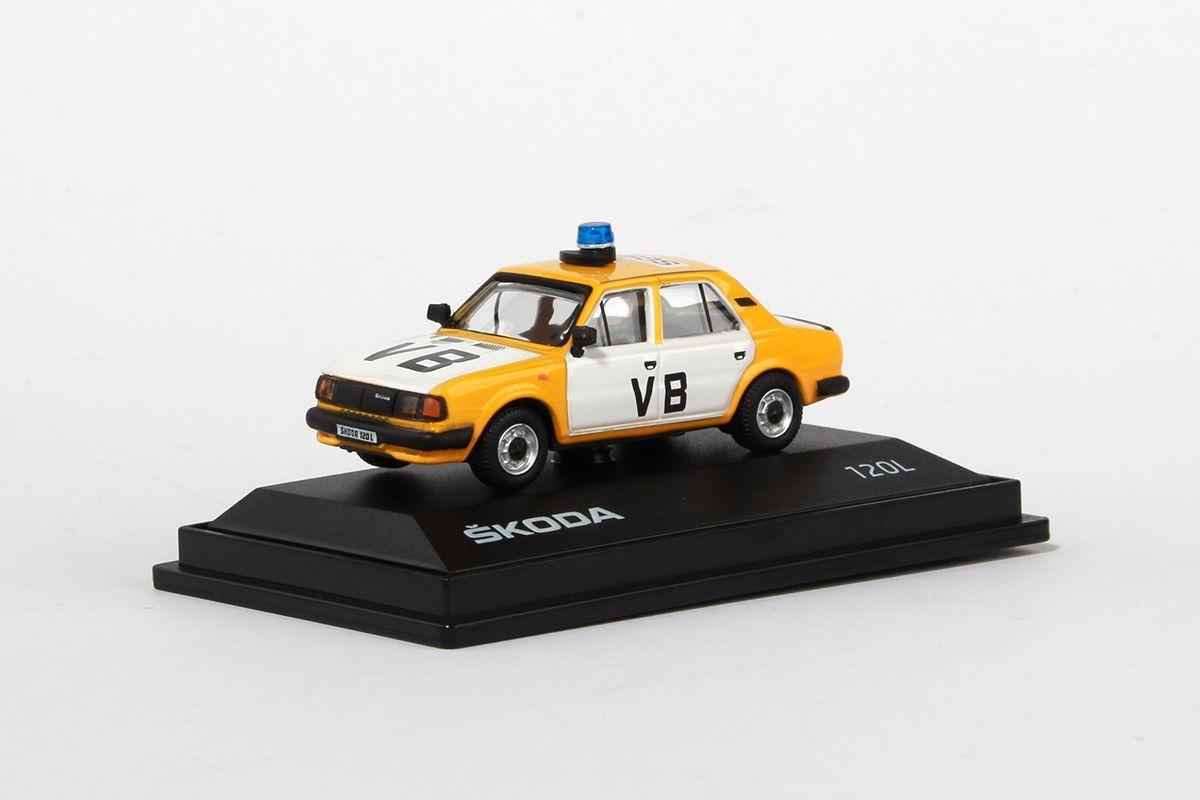 (1984) Škoda 120L - VB - Veřejná bezpečnost (1:72) | www.tgw.cz