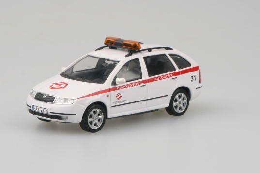 (2000) Škoda Fabia Combi - DPP (1:72) Pohotovost autobusy   www.tgw.cz