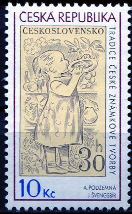 (2009) č. 587 ** - Česká republika - Tradice české známkové tvorby | www.tgw.cz