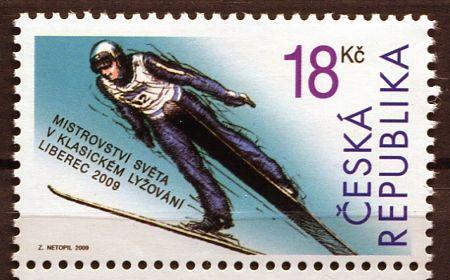 (2009) č. 588 ** - Česká republika - MS v lyžování   www.tgw.cz