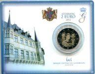 (2012) 2€ - Lucembursko -  Svatba - mincovní karta