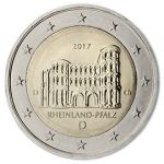 (2017) - 2 € - Německo - RHEINLAND-PFALZ - set A, D, F, G, J mincovny (BU)
