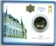 (2018) 2 € - Luxembourg - Anniversary of the Constitution - coin card