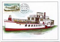 (2018) CM 132 (973) -  Kolesový parník Vltava