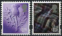 (2019) MiNr. 128 - 129 ** - Skotsko - Zemský znak