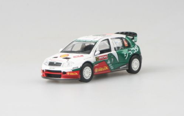 Abrex (2005) Škoda Fabia WRC (1:43) - Rally Japan 2005 | www.tgw.cz