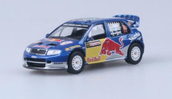 Abrex (2006) Škoda Fabia WRC EVO II (1:43) - Rally Turkey 2006 - Red Bull | www.tgw.cz