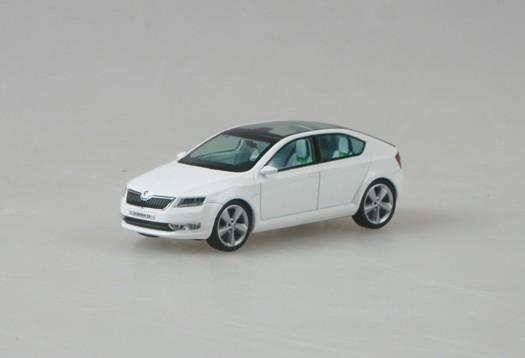 Abrex (2011) Škoda Vision D Concept (1:43) bílá