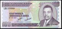 Burundi - (P 37f)  100 Francs (2007) - UNC