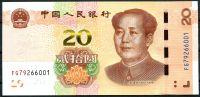 Čína (P 914) - 20 JUAN (2019) - UNC