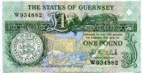 Guernsey - (P 52c)  1 Pound (1991) - UNC