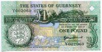 Guernsey - (P 52d)  1 Pound (2016) - UNC