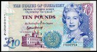 Guernsey - (P 57d)  10 Pounds (2015) - UNC