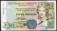Guernsey - (P 59)  50 Pounds (1994) - UNC