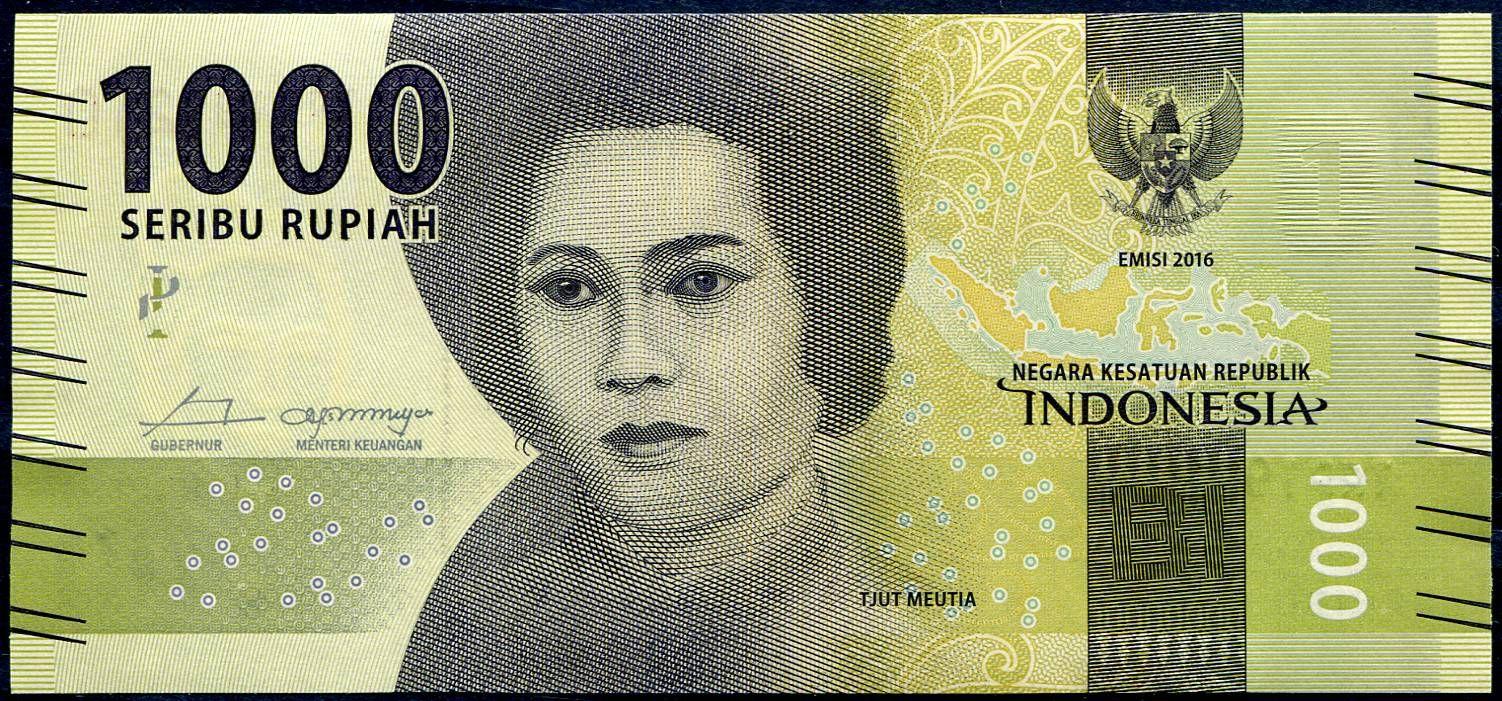 Indonesie - (P 154c.1) - 1000 RUPIAH (2018) - UNC