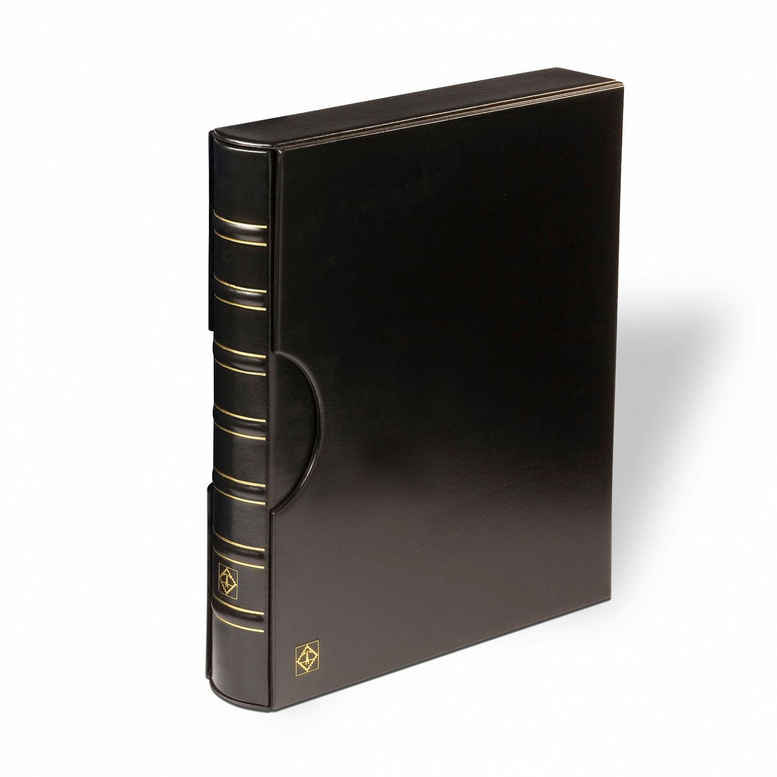 Leuchtturm FOLIO - černé desky + kazeta   www.tgw.cz