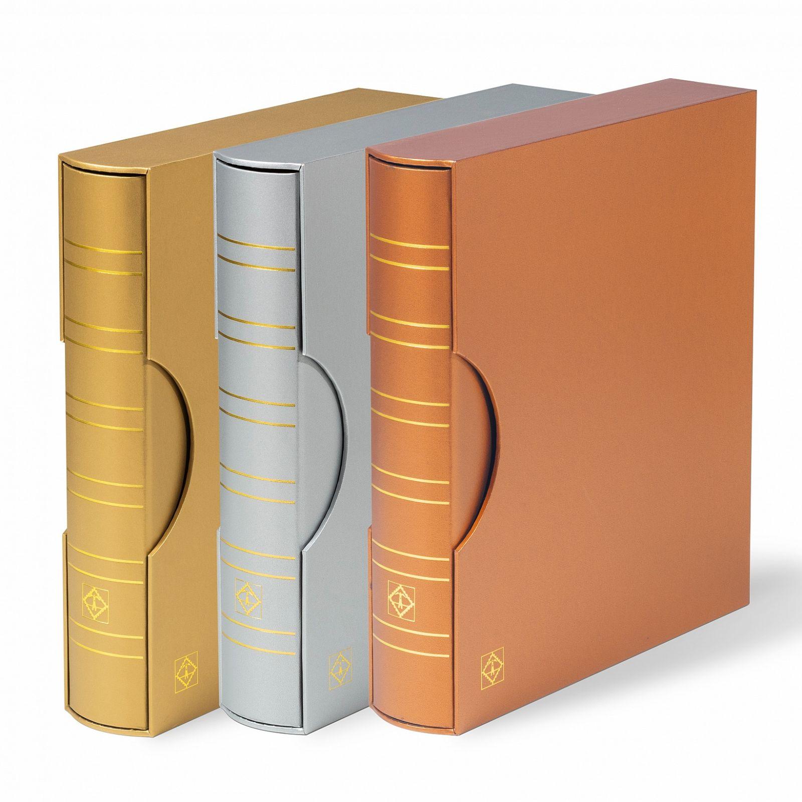 Leuchtturm kroužkové desky GRANDE Mettalic - classic + kazeta | www.tgw.cz