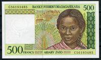 Madagaskar - (P 75b)  500 Francs (1994) - UNC