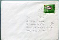 Obálka Švýcarsko - raz. 12.5.03 - zaslaná do ČR